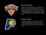 Sports Logo Project - MUST SEE!