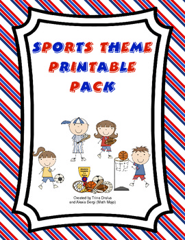 Sports Theme Printable Pack