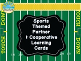 Sports Themed Partner and Group Matching Cards