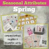 Spring Attributes Game: Compare/Contrast (includes a Carib