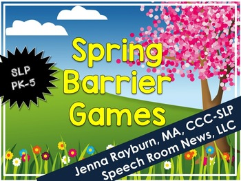Spring Barrier Games for Speech and Language Therapy