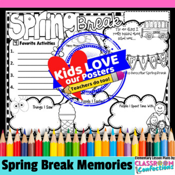 Spring Break Poster Activity