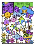 Spring Fling {Creative Clips Digital Clipart}