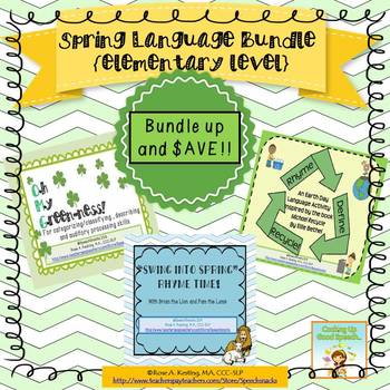 Spring Language Bundle {Elementary level}