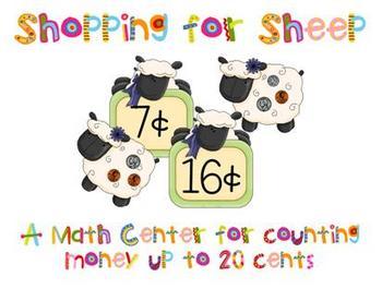 Spring Math Center - Shopping for Sheep