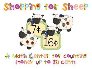 Spring Math Center - Shopping for Sheep