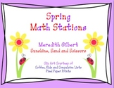 Spring Math Centers/Stations
