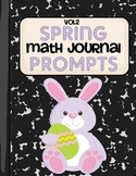Spring Math Journal Prompts- Vol.2