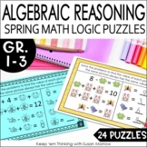 Addition and Subtraction Algebraic Thinking  Math Puzzlers