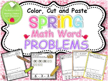 Spring Math Word Problems {Common Core Aligned!)