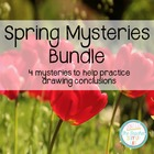 Spring Mysteries Bundle - 3 activities for drawing conclusions
