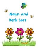 Spring Noun and Verb Sort