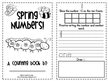 Spring Numbers: Counting to 10