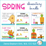 Spring Speech and Language Super BUNDLE