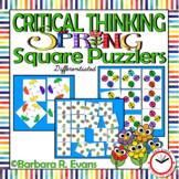 Spring Square Puzzlers