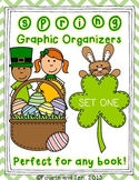 Spring Themed Graphic Organizers Set One