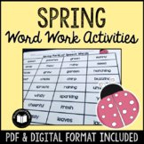 Spring Word Work Activity Packet