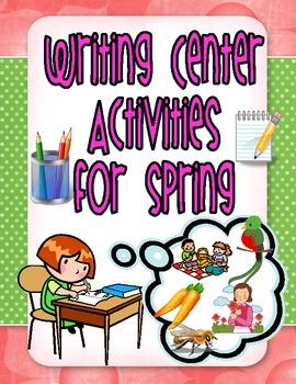 Spring Writing Center Activities