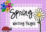 Spring Writing Packet
