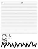 Spring Writing Paper