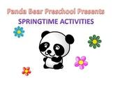 Springtime Activities