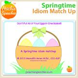 Springtime Idiom Match Up