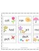 Springtime Short Vowel Word Sort/Write the Room