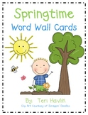 Springtime Word Wall Pack