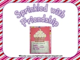 Sprinkled with Friendship Valentines Craftivity