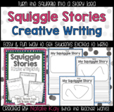 Squiggle Stories - Creative Writing Activity (Grades K-6)