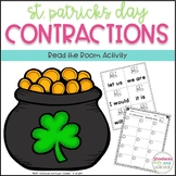 St. Patrick's Day CONTRACTIONS Read the Room