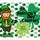 St. Patrick's Day Centers - Math and Literacy