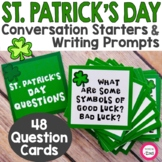 St. Patrick's Day Conversation Starters & Writing Prompts