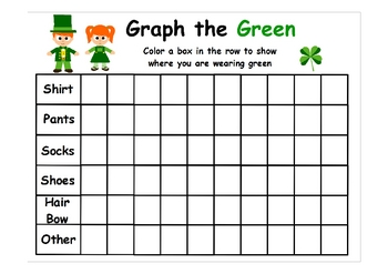 St. Patrick's Day Fun Visual Aid/Booklet