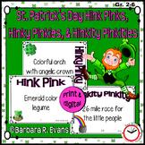 St. Patrick's Day Hink Pinks, Hinky Pinkies, & Hinkity Pinkities