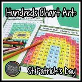 St. Patrick's Day Hundreds Chart Art (Mystery Picture)