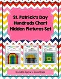 St. Patrick's Day Hundreds Chart Hidden Picture Set