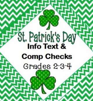 St. Patrick's Day Facts Informational Text & Comprehension Checks