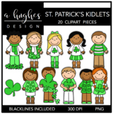 St. Patrick's Day Kidlets {Graphics for Commercial Use}