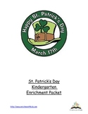 St. Patrick's Day Activity Packet Gr. K, 1, 2