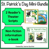 St. Patrick's Day: Informational e-book plus  Readers' Theater