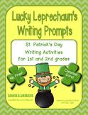 St. Patrick's Day Writing Activities: Lucky Leprechaun's W