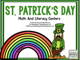 St. Patrick's Day Math And Literacy Fun!  A Common Core Creation!