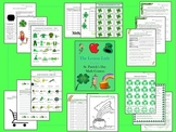 St. Patrick's Day Math Centers, Worksheets, & Activities