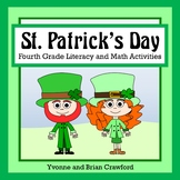 St. Patrick's Day Math and Literacy Activities Fourth Grad