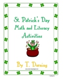 St. Patrick's Day Math and Literacy Games and Activities