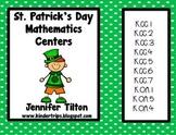 St. Patrick's Day Mathematics Centers-Common Core