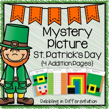 St. Patrick's Day Mystery Picture {Addition}