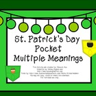 St. Patrick's Day Pocket Multiple Meanings FREEBIE