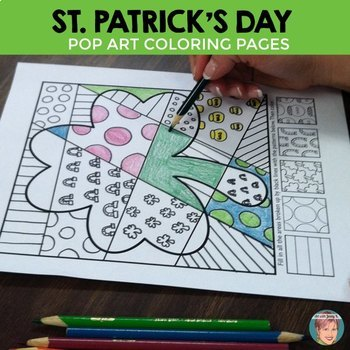 St. Patrick's Day Interactive Coloring Sheets